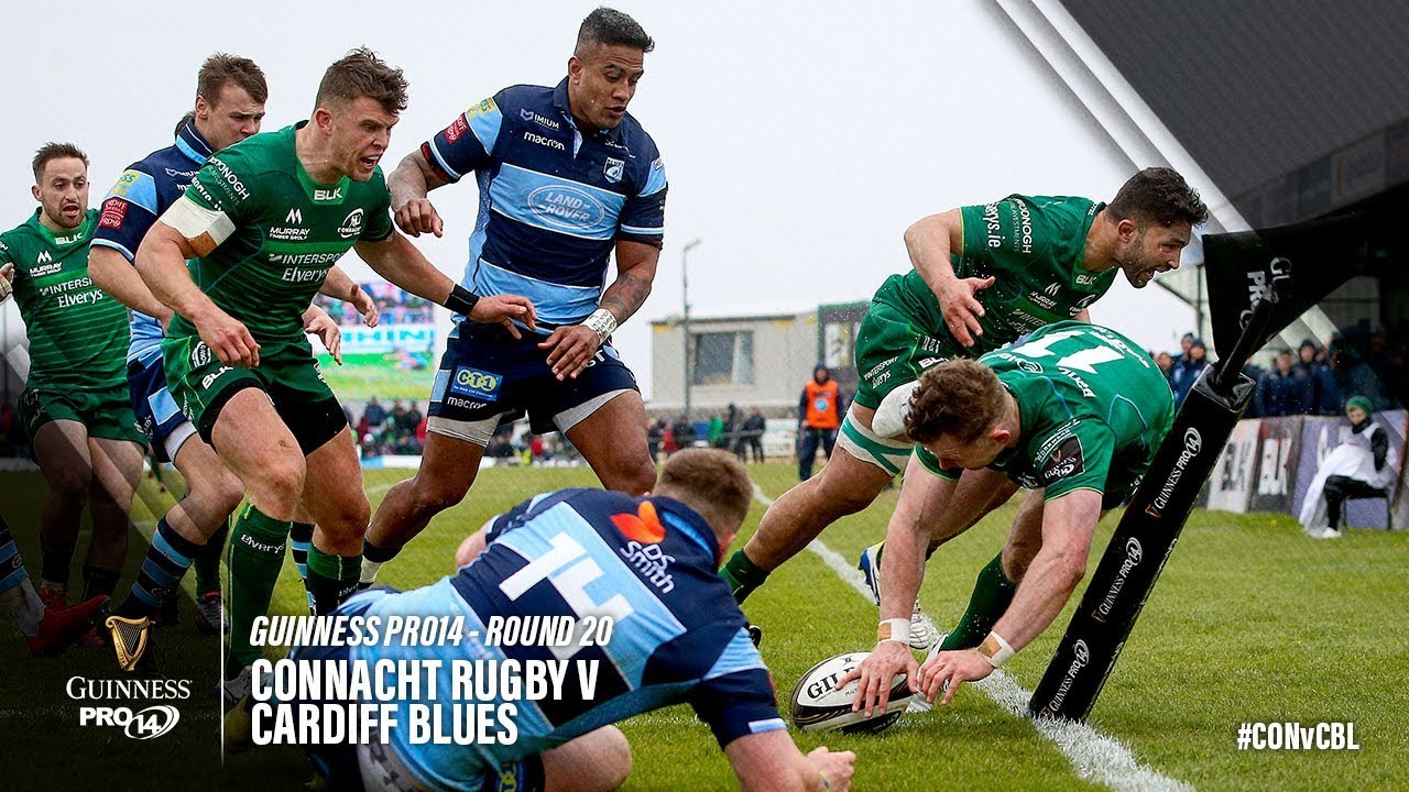 a7c40635a14 Connacht Rugby v Cardiff Blues, Guinness Pro 14 2018/19 | Ultimate Rugby  Players, News, Fixtures and Live Results