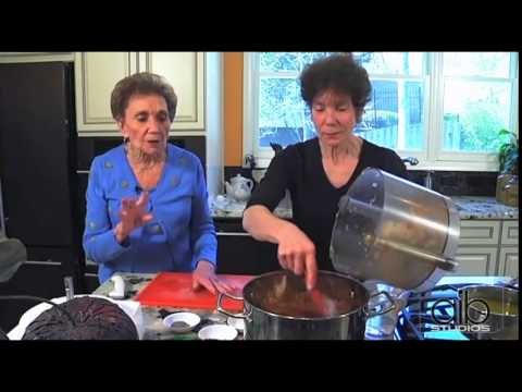 Delicious Cholent, Split Pea Soup & Chopped Herring | It Tastes Jewish