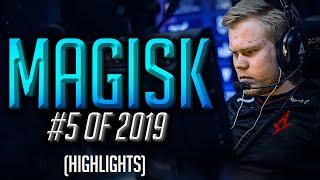 magisk - INSANE PERFORMANCE - HLTV.org's #5 Of 2019 (CS:GO)
