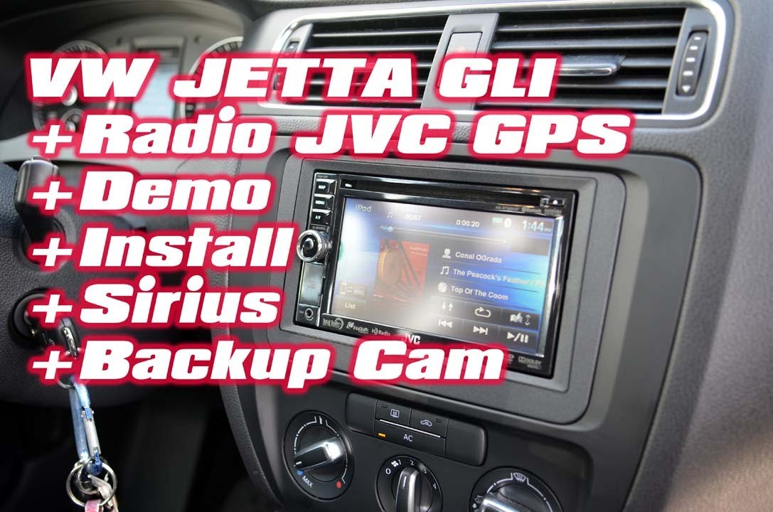VW Jetta GLi JVC Navigation GPS, Sirius radio, Backup ...