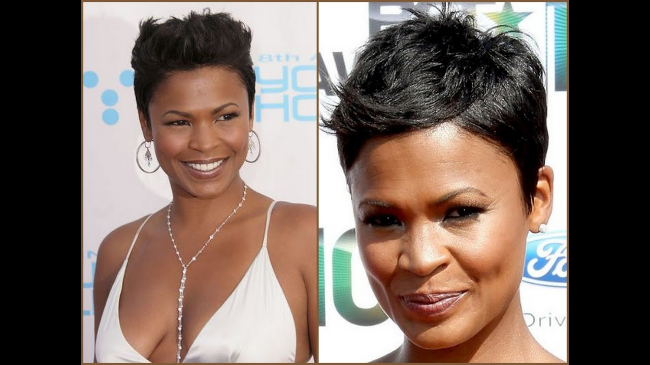 Nia Long Hair Styles - 2014 - YouTube