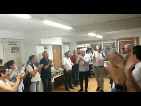 El PSOE celebra su victoria incontestable en las elecciones municipales de Vilagarcía