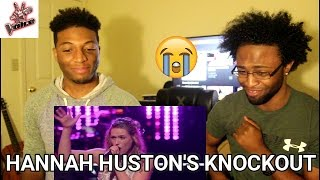 """The Voice 2016 Knockout - Hannah Huston: """"House of the Rising Sun"""" (REACTION)"""