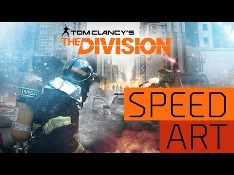 "Tom Clancy's The Division ""São Paulo"" - Photoshop Speed Art"