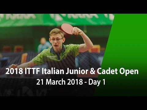 2018 Italian Junior & Cadet Open - Day 1