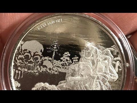 2018 Fiji 1 oz Silver Samurai Archives BU - Kiyomori