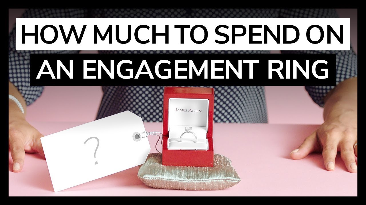 How much to spend on an engagement ring by jamesallencom for How much to spend on wedding ring