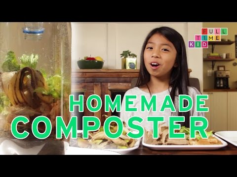 Making a Homemade Composter!   Full-Time Kid   PBS Parents