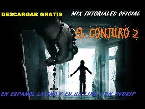 descargar gratis EL CONJURO 2 en ESPAÑOL LATINO y en un LINK en dvd rip y te la comento