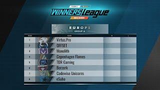 Virtus Pro vs Berzerk bo1 WINNERS LEAGUE Season 2 EU Invite Div Group A 2019 05 12
