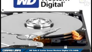 HD Sata II Caviar Green Western Digital 1Tb 64Mb