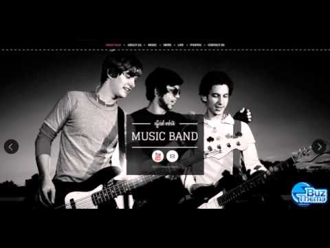 Download Music Band Wix Website Template by  Di HTML-TM
