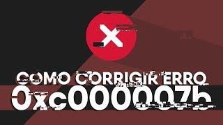 COMO CORRIGIR ERRO 0xc000007b (SEM ERROS)