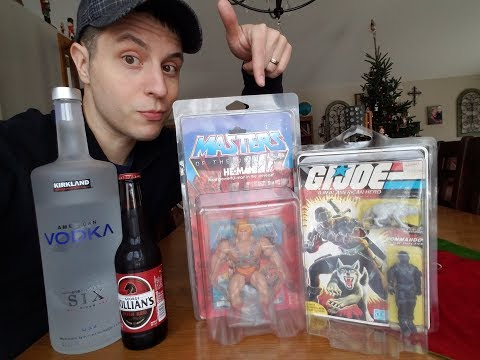 From ALCOHOLIC to ToyaHaulic - 80's TOY Collector * Origin STORY of Justice