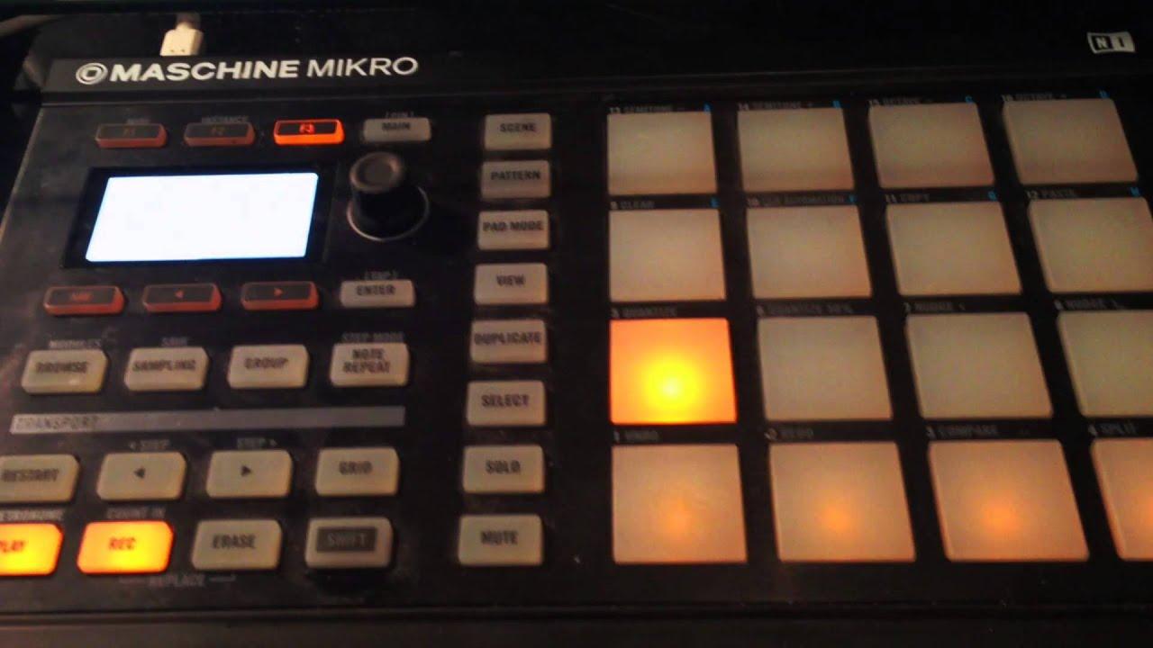 G.O.M.D. Beat Remake on Maschine Mikro - YouTube