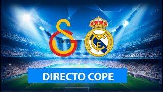 (SOLO AUDIO) Directo del Galatasaray 0-1 Real Madrid en Tiempo de Juego COPE