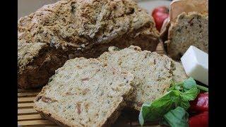 Хлеб домашний на пиве.  Без дрожжей.  Очень быстро и очень вкусно.