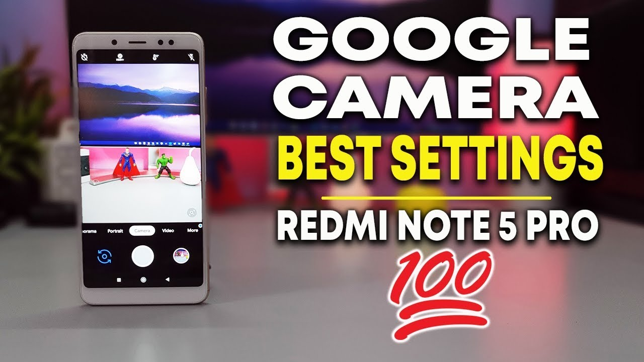 BEST GOOGLE CAMERA for REDMI NOTE 5 PRO | SLOW MOTION, NIGHT MODE | हिन्दी