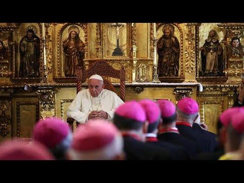 euronews (en français): Le pape termine son périple en Amérique latine
