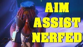 FORTNITE AIM ASSIST/SNAP NERFED IN SEASON 8