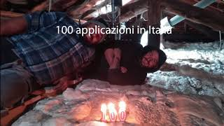 Centesima installazione ICYNENE in Italia by Fastisol