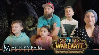 World of Warcraft: Warlords of Draenor Cinematic- REACTION and REVIEW
