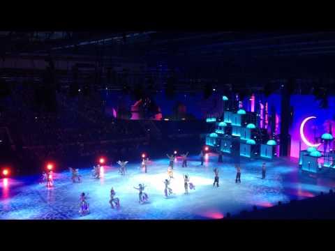 Ледовое шоу Аладдин, Лужники