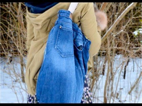 Tasche aus jeans nähen. Jeans tasche selber nähen. Diy Tasche jeans nähen.
