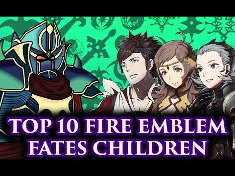 BLAZINGKNIGHT Top 10 Fire Emblem Fates Children (FE:Fates-Athon)