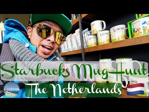 STARBUCKS MUG HUNT   HOW TO TRAVEL HOLLAND IN A DAY
