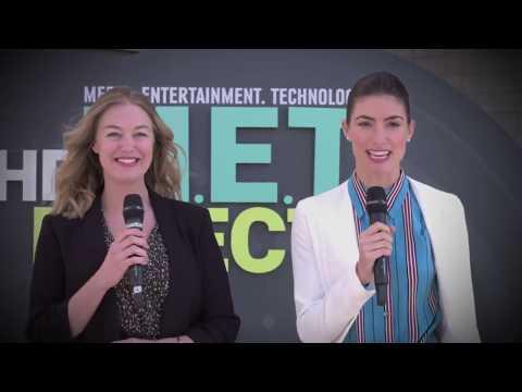 Ashley Blankenship s Gabriel Janko at NAB  2018, Las Vegas