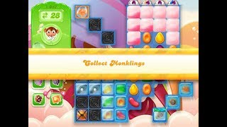 Candy Crush Jelly Saga Level 1057 (3 stars, No boosters)