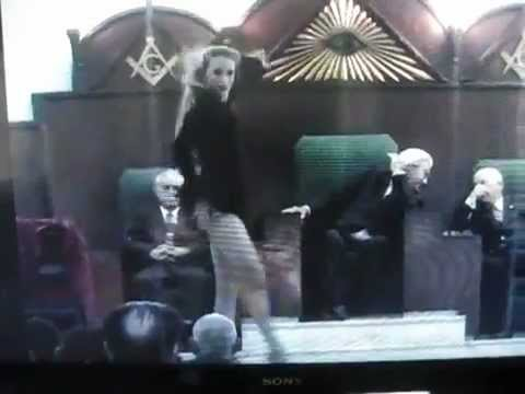 Freemason Illuminati Performance By Famous Actress