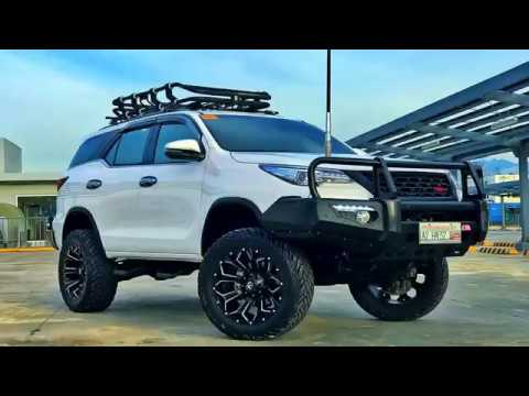 Modified Toyota Fortuner 4x4 ☆ SPADAFIED Offroader - YouTube