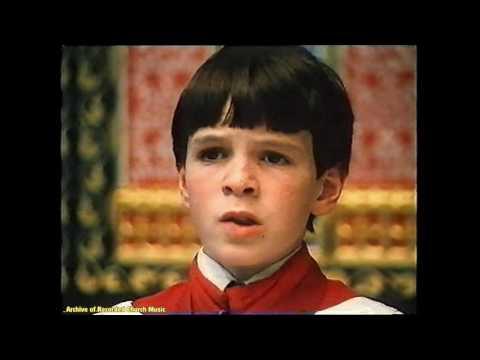 "TV ""A Ceremony of Carols"" (Britten): Christ Church Oxford 1982 (Francis Grier)"