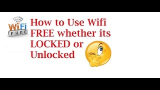 how to get free wifi anytime anywhere