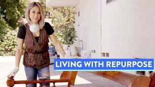 Living Room Makeover | Living With Repurpose