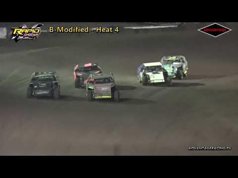 B-Modified Heats - Rapid Speedway - 9/14/18