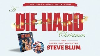 Narrated by voice actor steve blum, this animated video will leave you enamored with the christmas spirit and bad-assery of john mcclane.because nothing says...