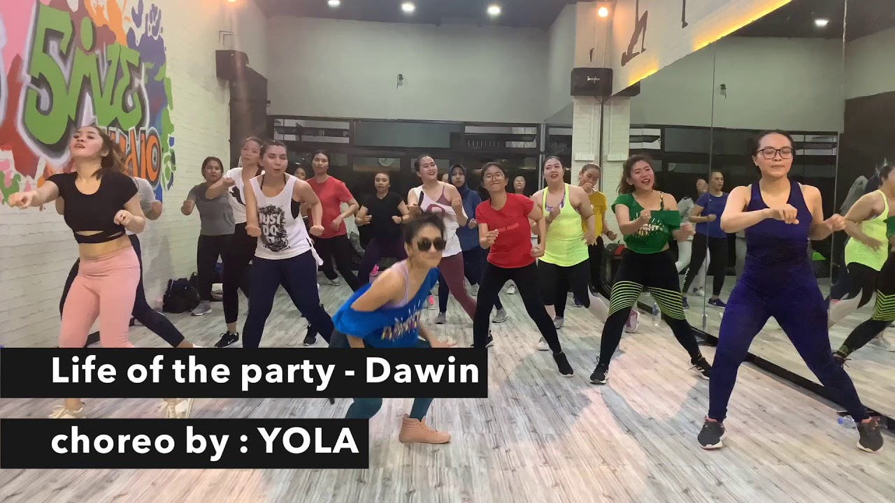 Download Life of the party - DAWIN   choreo by YOLA   zumba   zumba dance   zumba choreo   zumba fitness