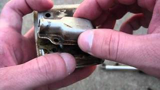 How to clean a Spark Arrestor Screen