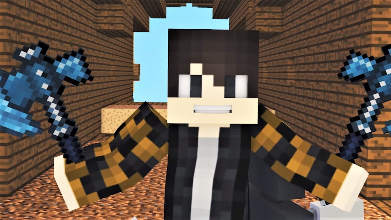 hacker minecraft psycho song songs animation