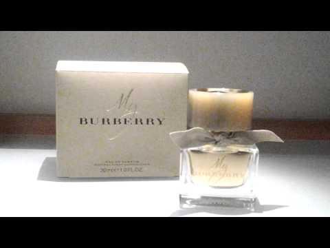 My BURBERRY...мой новый парфюм!!!!