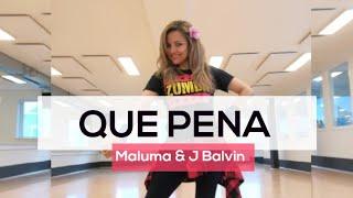 QUE PENA - Maluma & J Balvin. Choreo Karla Borge. Kizomba & Reggaeton. Zumba