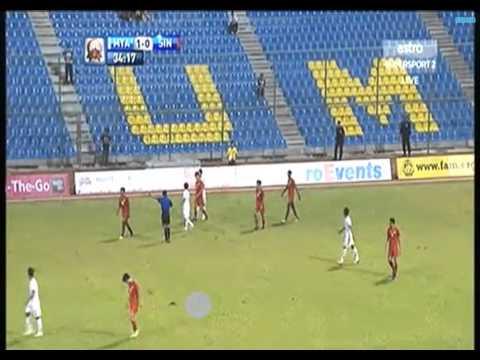 Merdeka cup 2013 Myanmar -2 vs Singapore -0 Full times (2013 09 11)