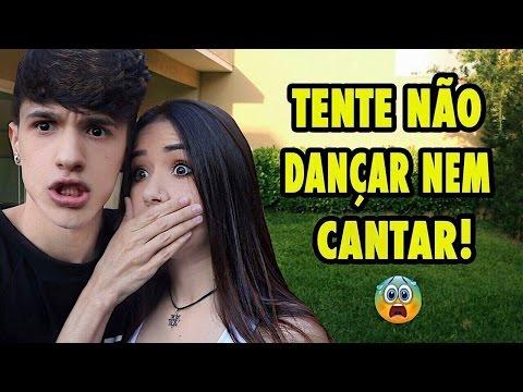 TENTE NÃO CANTAR E NEM DANÇAR!! (Ft. Maria Venture)