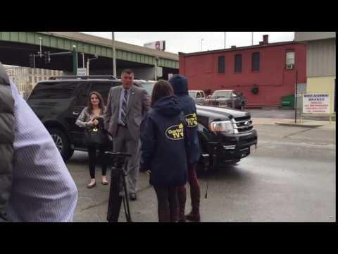 Lt. Governor Karyn Polito Arriving at Edge Union Station
