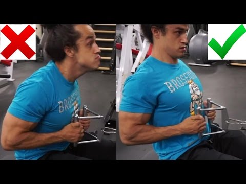 HOW TO GROW A THICK BACK (Proper Way To Do Rows) Ft. Alberto Nunez