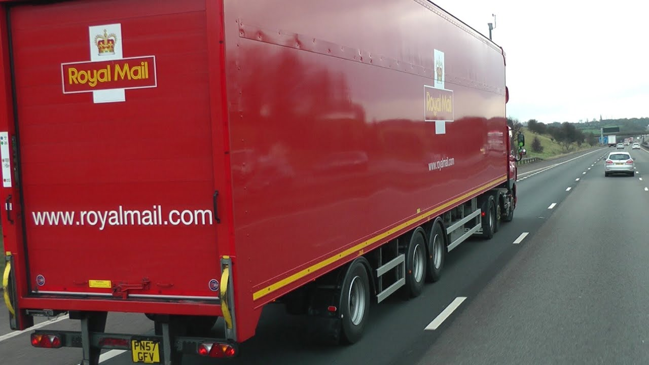 Royal Mail Daf Cf85 410 With Cartwright 15 65m Longer Semi Trailer Lst