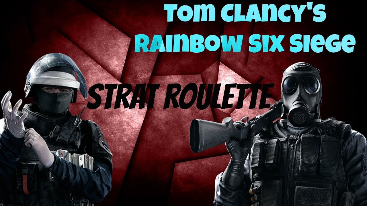 strat roulette tom clancy 39 s rainbow six siege youtube. Black Bedroom Furniture Sets. Home Design Ideas